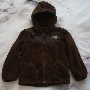 The North Face girls XS 6 Brown OSO Fleece Jacket